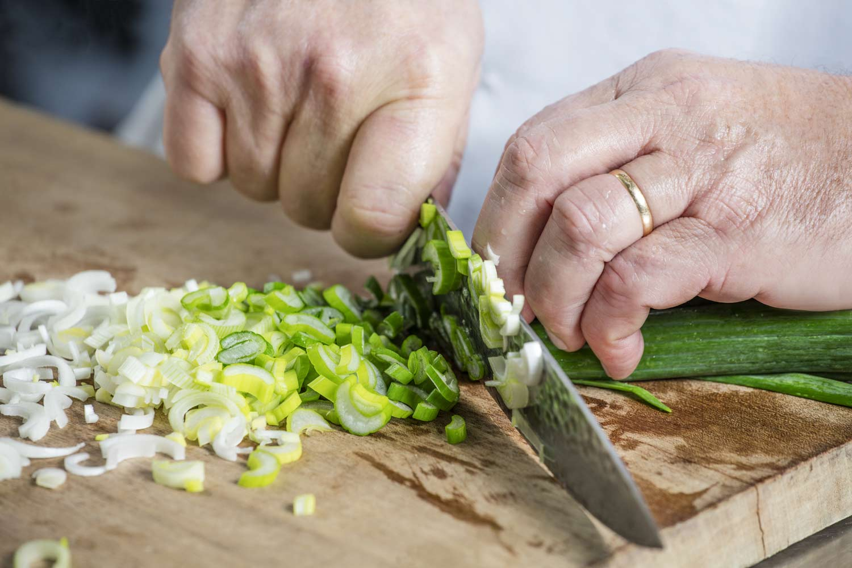 Préparation de nos légumes